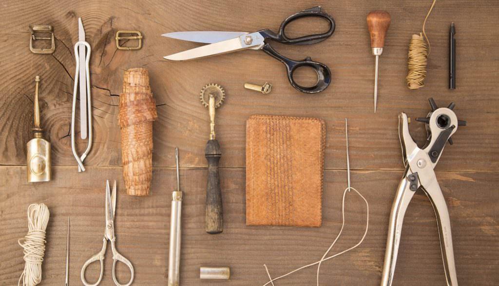 strumenti calzolaio